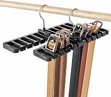 LKY Gürtelhalter, 10 Schlitze, für Krawatte,
