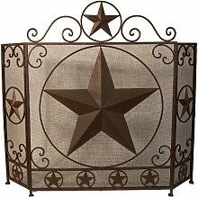 LL Home Metal Star Kaminschutzgitter