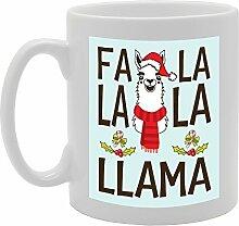 Llama Santa Weihnachten, einzigartige Geschenkidee