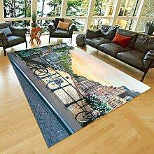 llc Teppich Dekoration Küche rutschfeste Matten