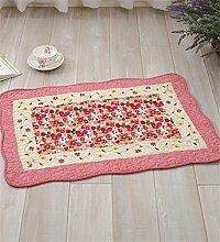 LLD DITAN Anti - Slip Baumwoll - Teppich Garten Teppichboden Matratze Badezimmer Matratzen Stoff Kissen kann maschinenwaschbar ( Farbe : C , größe : 50*135cm )
