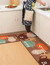 LLD DITAN Rutschfeste Auflagen Matratze Tür Eingangshalle Matten Küchenmatten Haushalt Badematten ( größe : 50*120cm )