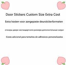 LLHBDA 3D Door Sticker Benutzerdefinierte Größe