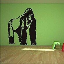 LLLYZZ Gorilla Silberrücken Affe Affe Wilde Tiere