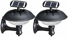 LLOO 20 LED Solarleuchten Außen Betriebene