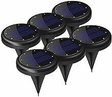 LLOO LED Solarbetriebene Bodeneinbauleuchte