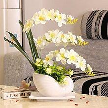 llpxcc Künstliche Blumen Wohnzimmer Esstisch