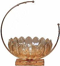 LLT Durable Glas Obstteller Dekoration Getrocknete