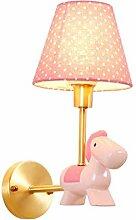 LLT Kinderzimmervoll Kupfer Wandlampe Kreative