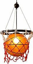 LLT Nützliche Kronleuchter Basketball Glas