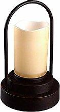 LLT Vintage Retro Pendelleuchte Kerzenhalter