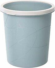 LLWWY Runder Mülleimer Haushalt Badezimmer Küche