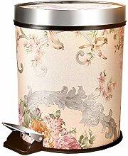 LLWWY Slim Treteimer Touch Top Bin/Mülleimer/Mülleimer/Küche/Home/Kunststoff-8L Rechteck Abfall & Recycling