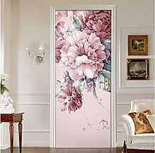 LLWYH Türaufkleber Idyllische Florale Kreative