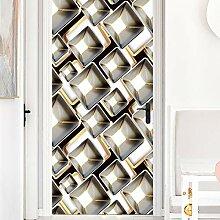 LLWYH Türtapete Türposter 3D Dreidimensionale