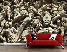 LLXPDZ 3D wallpaper wandbilder Römische Figur