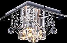LLY Lobby Elegant G4 Deckenlampe Hängend Kristall