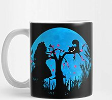 Llynice Alice im Wunderland 11 Unzen Kaffee-Haferl