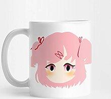 Llynice DDLC Chibi Natsuki 11 Unzen Kaffee-Haferl