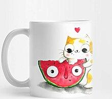Llynice Wassermelone 324 ml Kaffee-Haferl