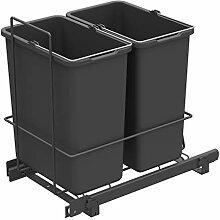 LM 62/2 Einbau Mülleimer ausziehbar mit 2x10L