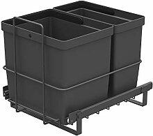 LM 64/2 Einbau Mülleimer ausziehbar mit 2