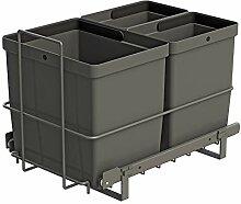 LM 79/3 Einbau Mülleimer ausziehbar mit 1x16L