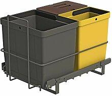 LM 79/3A Einbau Mülleimer ausziehbar Abfalleimer