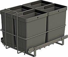 LM 79/4 Einbau Mülleimer ausziehbar mit 4x8L