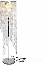 LMAMZ Silber Kristall stehlampe, Einfacher Design