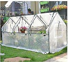LMDE Outdoor Mini Gewächshaus,Tragbare Folienzelt