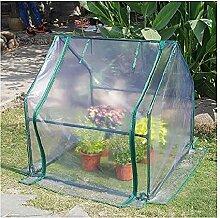 LMDE Tragbare Mini Gewächshaus,Kleine Pflanze