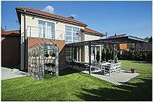 LMDE Tragbare Outdoor Gewächshaus,Begehbares-in