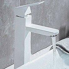 LMK Wasserhahn quadratisches Waschbecken