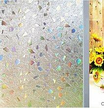 LMKJ PVC statische Aufkleber Glasmalerei