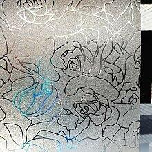 LMKJ Rose statische Frischhaltefolie, abstrakte