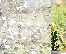 LMKJ Undurchsichtige Sichtschutzfolie aus Glas,