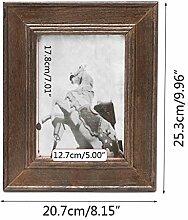 LMSHM Bilderrahmen Fotorahmen Wand Holz Fotorahmen