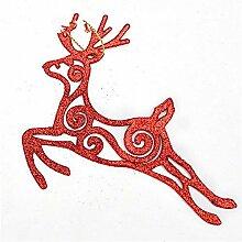LMSHM Weihnachts Dekoration 13X11Cm Silber Und