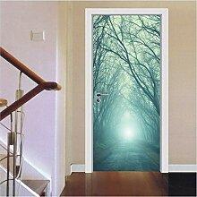 LMTQAZQ 3D Tür Aufkleber Für Wohnzimmer