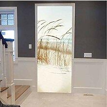 LMTQAZQ 3D Türaufkleber Wandbild Für Wohnzimmer