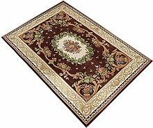 LMX Teppich Kontinentales Wohnzimmer Teppich / Couchtisch Teppich / Schlafsofa Bett / Nachttisch Teppich ( Farbe : 3# , größe : 80cm×120cm )