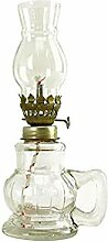 LMYKH Glas Petroleumlampe, Sturmlaterne Retro