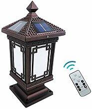 LMYMX LED Aussenleuchte Solar, Vintage Gartenlampe