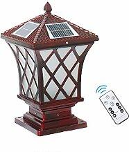 LMYMX Vintage Gartenlampe, LED Aussenleuchte Solar