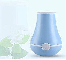 LN Usb Mini Luftbefeuchter Hause Luftreiniger Kreative Desktop Vase Luftbefeuchter,Blau