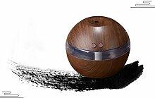 LN Wooden Mini Luftbefeuchter Usb Luftbefeuchter Stummschlauch Zerst?uber Luftreiniger,Braun