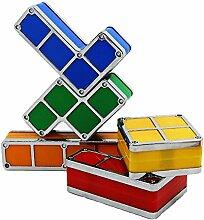 LNHYX Led nachtlicht baby diy tetris puzzle
