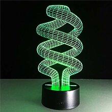 LNHYX Magische optische Illusion 3D Stimmung Lampe