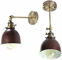 LNHYX Vintage WandleuchteLicht Lampe Antike